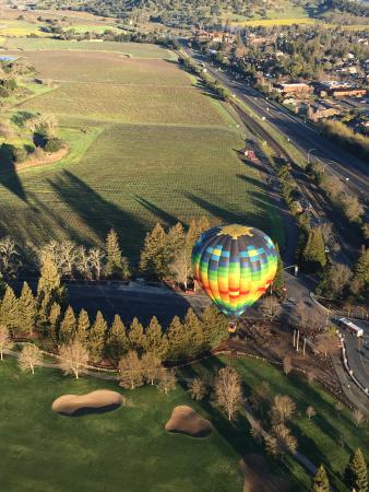 Balloons Above the Valley Foto