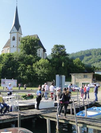 Maria Worth, Østrig: Igreja