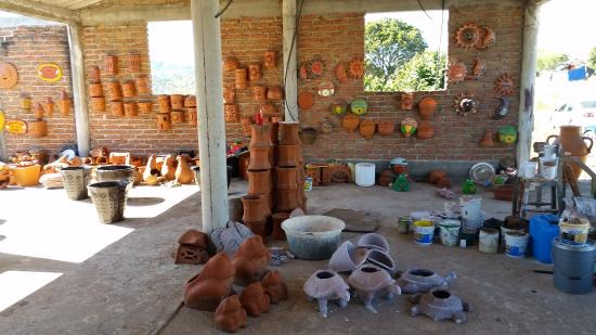 Wonderful Mazatlan Tours: Some Of The Pottery Made Near Mazatlan Mexico