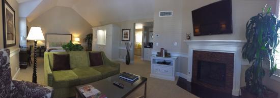 Los Olivos, Californien: Our room