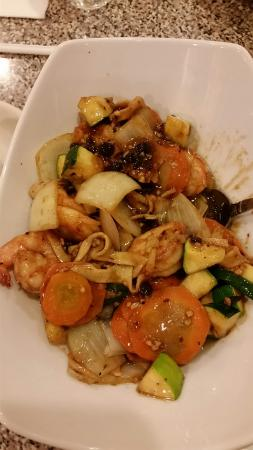 Zionsville, IN: Kung Pao Shrimp.