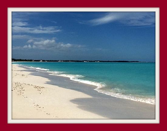 Treasure Cay, Great Abaco Island: White sand beaches.