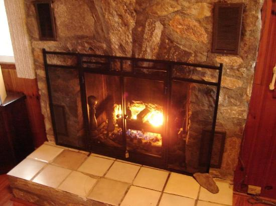 Black Mountain, NC: fireplace is nice