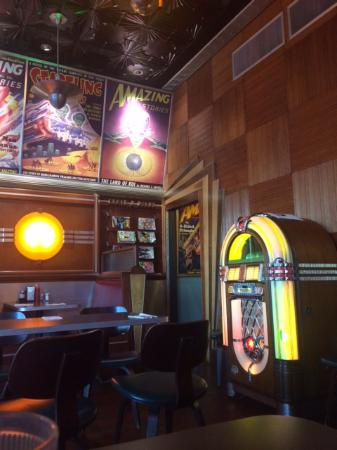 Lost City Diner: love the inside!!!!!