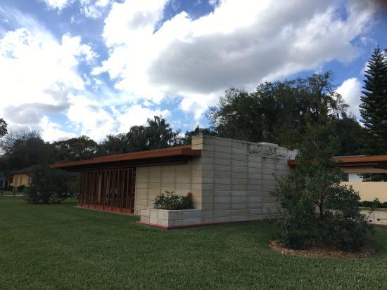 Lakeland, FL: Frank Lloyd Wright Unsonian house at Florida Southern College