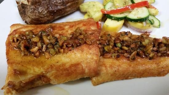 The Side Door Saloon: Pistachio Whitefish Dinner