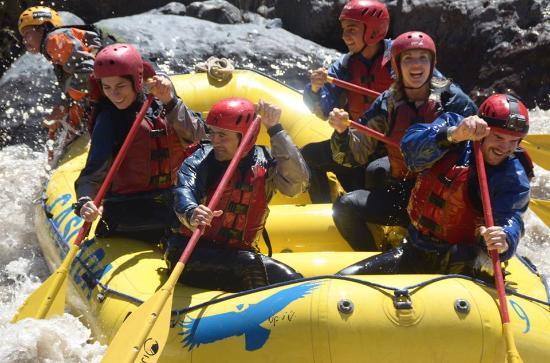 Cascada de las Animas: Rafting