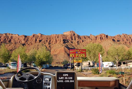 Rv Parks Utah Map.Spanish Trail Rv Park Prices Campground Reviews Moab Utah