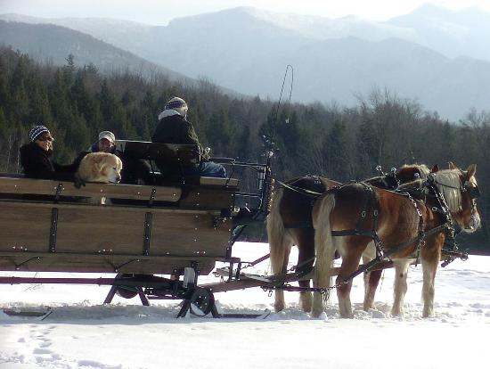 Jeffersonville, VT: Spectacular Views of Mt. Mansfield and Smugglers' Notch