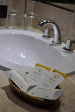 Qorianka Hotel: Baño