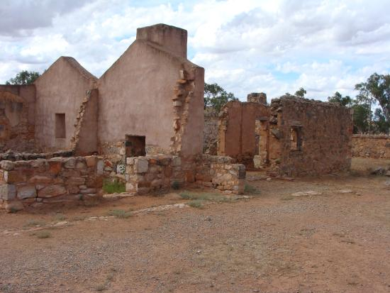 Flinders Ranges National Park, Australie : Kanyaka Ruins