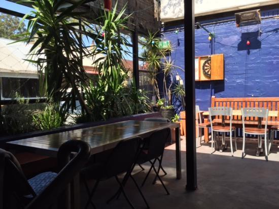 Rozelle, Australië: Beer garden