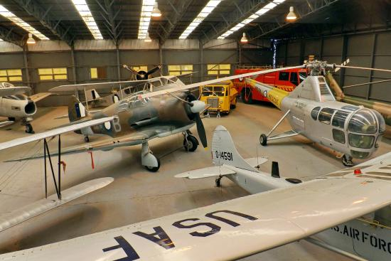 Point Cook, أستراليا: In the 'Display Hanger'