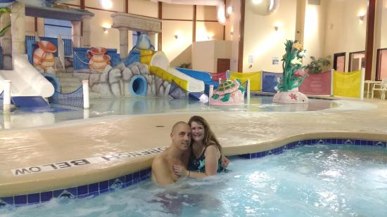 kids waterpark area with us pictured in the adult hot tub picture rh tripadvisor com