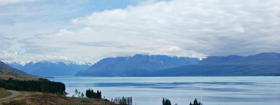 Aoraki Mount Cook National Park (Te Wahipounamu), Neuseeland: the serene lake