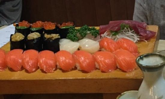 Nozawaonsen-mura, Japan: Excellent sushi for good price!