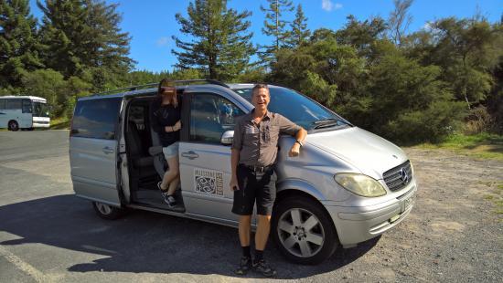 Milestone Tours: Richard, our tour guide.