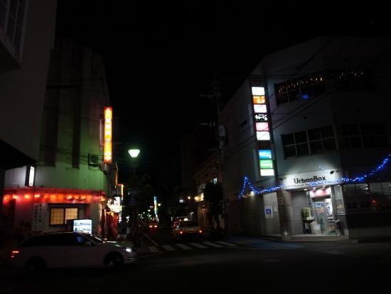 Amami, Japón: 思ったより地味な印象の繁華街です