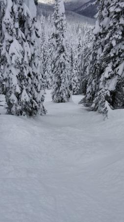 Kintla Lodge: steeps off of chair #11
