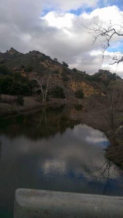 Calabasas, CA: River at the trail