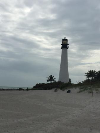 Key Biscayne, فلوريدا: Playa y faro, naturaleza e historia juntos
