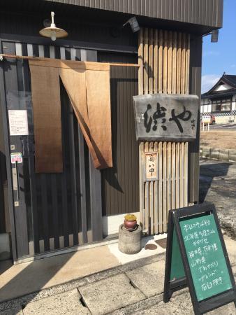 Kurayoshi, Giappone: 倉吉のひとに美味しいお店をお尋ねしたらここ渋やを紹介してくれました。蕎麦定食930円は数量限定なので、13時半には売り切れていました。私は冷蕎麦のおろしにしんそば1.130円を食べました。美味