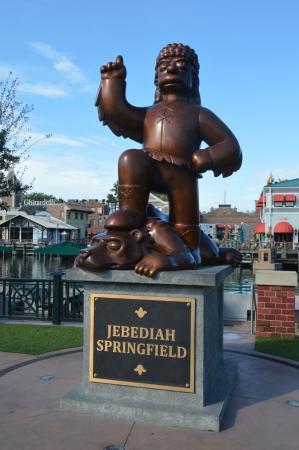 Springfield, OR: Estatua de Jeremías