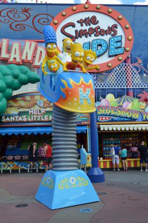Springfield, OR: The Simpsons ride