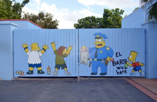 Springfield, OR: El famoso mural