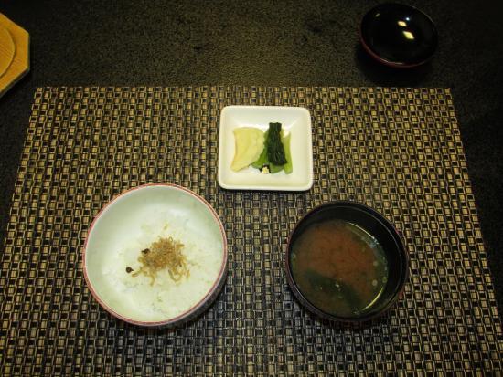 Kiso-machi, Japonia: 料理7