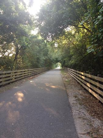 Keystone Heights, FL: Palatka-Lake Butler State Trail operated/maintained by Gold Head State Park