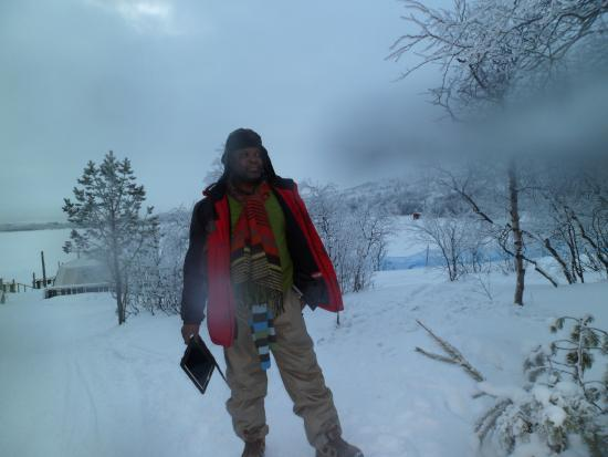 Snowhotel Kirkenes: On The Snow Hotel Grounds