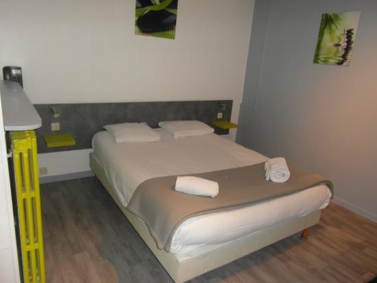 Tournus, ฝรั่งเศส: chambre double