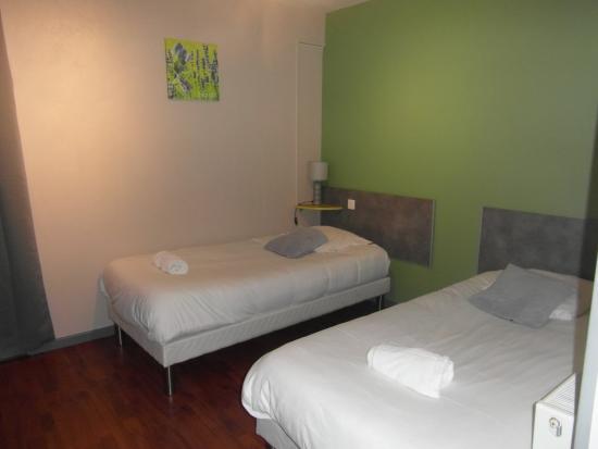 Tournus, Frankreich: chambre lits jumeaux
