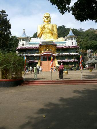 Dambulla, Sri Lanka: Golden Temple