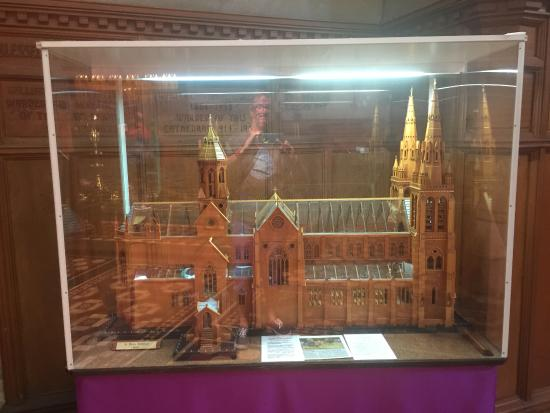 St Peter's Cathedral: model display