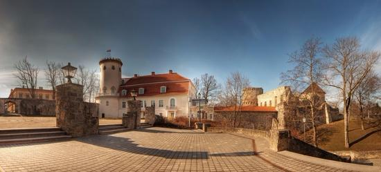 Cesis New Castle by local photographer Kaspars Kurcens. Amazing place!