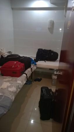Nagaland Guest House: You can see the entire room