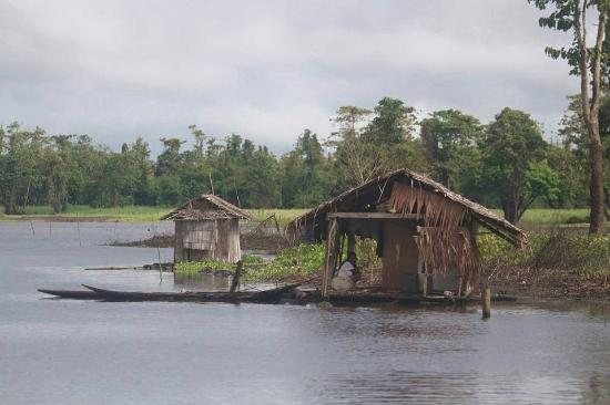 ‪‪Agusan del Sur Province‬, الفلبين: floating houses of Manobo ‬