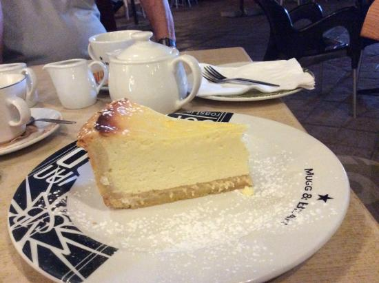 Greater Johannesburg, Sudáfrica: Cheesecake.