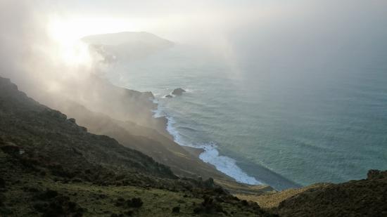 Carino, Spanyol: Garita da Herbeira. Acantilados que dan a mar abierto mas altos de Europa.