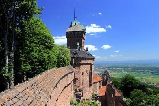 Orschwiller, Frankreich: DAS Motiv der Burg