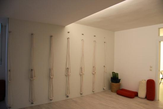 Iyengar Yoga Wall