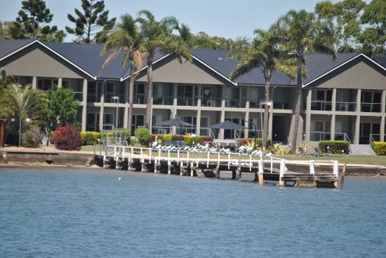 moby dick motel from the clarence river picture of yamba new rh tripadvisor com au