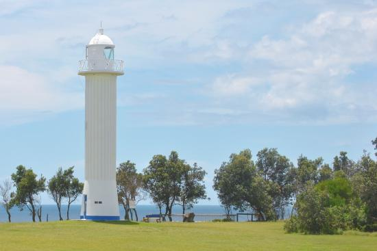 Yamba, Australia: the new lighthouse