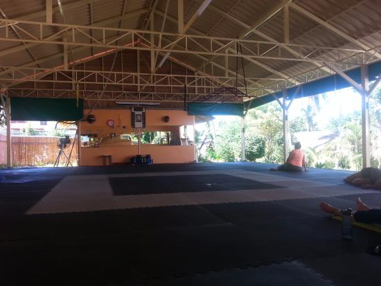 Palapon: Fitness area