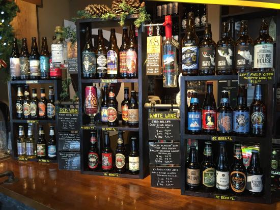 Pemberton, Canada : 35+ BC Craft Beers, Wine-On-Tap, Ciders, Caesars