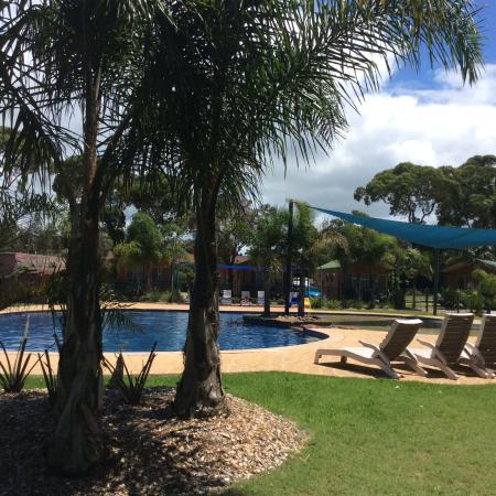 Moruya, Australien: View of swimming pool