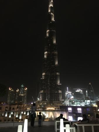 The Address Downtown Dubai: view from club lounge