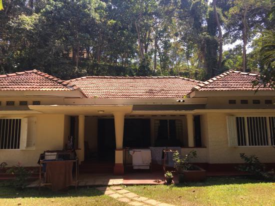 Talalla, Sri Lanka: View outside of Bungalow, dorm rooms